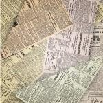 old newspapers under carpet